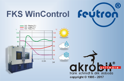 FKS WinControl for climatic test chambers of Feutron