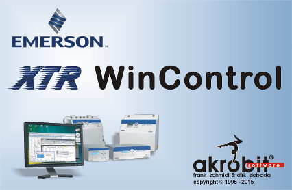 XTR WinControl for gas analysis